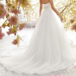 80e4617c2b4d7 Ivory Lucille Wedding Dress - Size 14